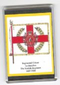 NORFOLK REGIMENT COLOURS 1887 LARGE FRIDGE MAGNET (RC)